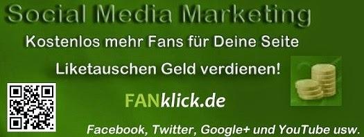 Photo: #FanKlick.de - #GRATIS im Monat bis zu 10.000 Fans bei #Facebook bei #Twitter o. #Google+ #YouTube - Empfehlung - http://bit.ly/116ZjD0