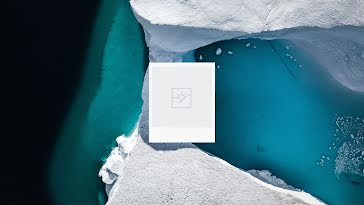 Blank Iceberg Frame 03 - YouTube Channel Art Template