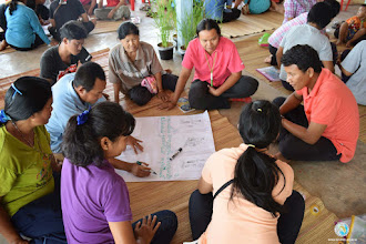 Photo: Training session with the SMART & local farmers - TOT1 , Tha Tum , Surin