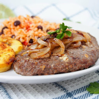 Cuban cube steak - bistec de Palomilla.