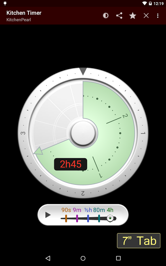 Kitchen Timer- screenshot