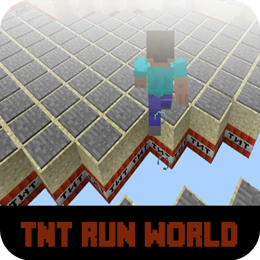 Map TNT Run World for MCPE