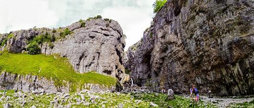Photo: Gordale Scar 180 panorama