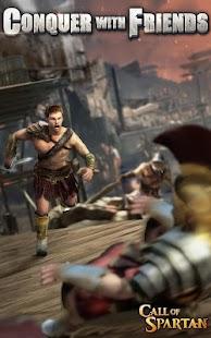 Call of Spartan - náhled