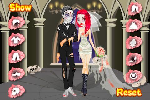 Zombie Wedding Dress Up
