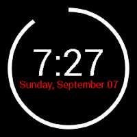 Screenshot of Battery Watch for Android Wear