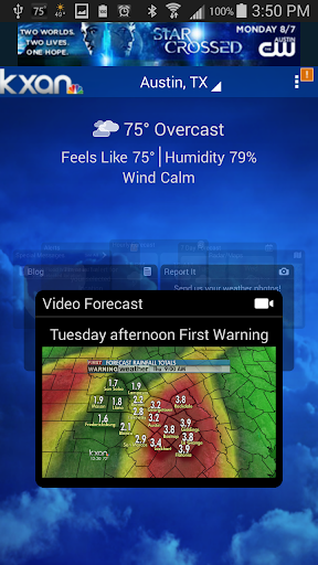 KXAN Weather screenshot 1