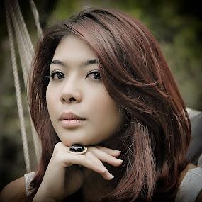 Amelia by Joey Bangun - People Portraits of Women