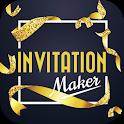 Invitation Maker, Greeting Card Maker (RSVP) icon
