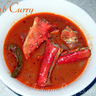 Kerala Crab Curry.