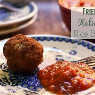 Fried Italian Rice Balls