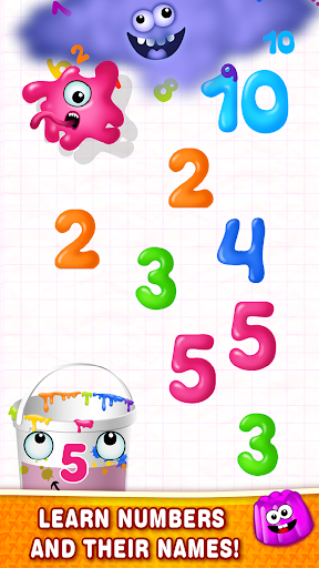 Learning numbers for kids! Writing Counting Games! 1.0.2.9 screenshots 3
