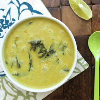 Curried Coconut Vegetable Soup.
