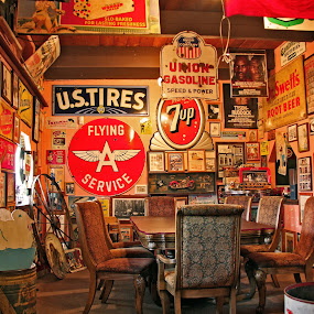 Sicilito's Pizza and Antiques by Arvind Mallya - Artistic Objects Antiques