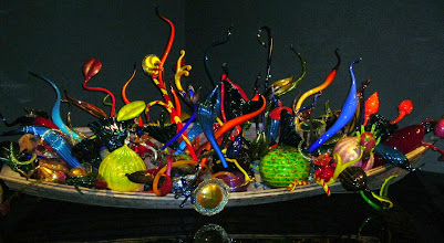 Photo: At Chihuly Garden and Glass (http://www.chihulygardenandglass.com/), Seattle.