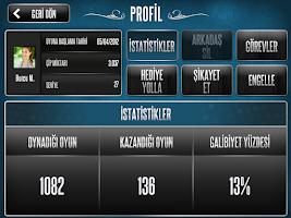 Screenshot of 101 Yüzbir Okey Plus