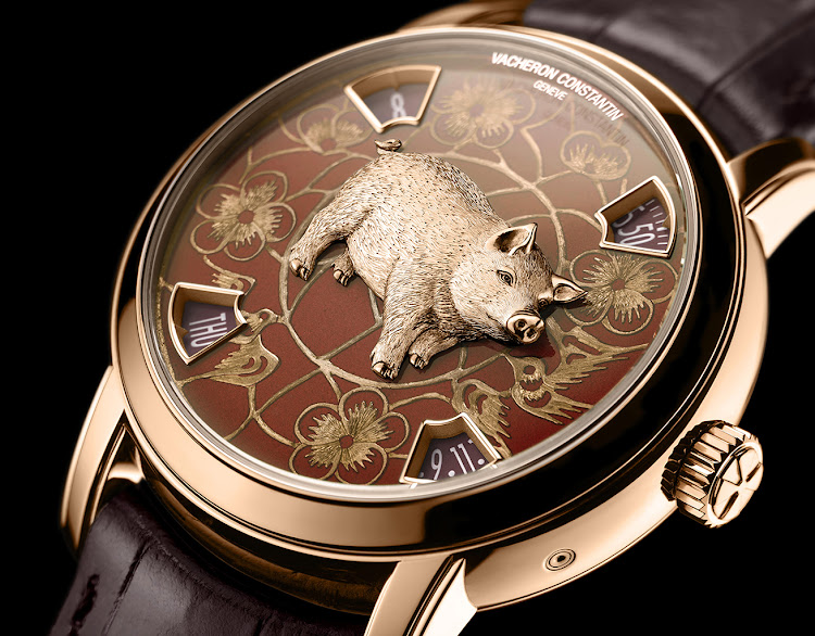 Vacheron Constantin Métiers d'Art The Legend of the Chinese Zodiac Year of the Pig.