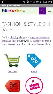 Fashion & Style On Sale- screenshot thumbnail