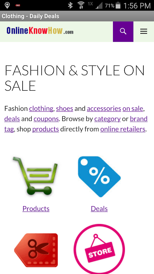 Fashion & Style On Sale- screenshot