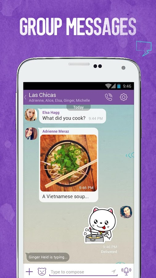 Viber Messages & Calls Guide – скриншот