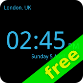 World Clock Fullscreen FREE