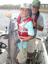 Photo: July 19, 2012 - Larry Akin and son Tyler