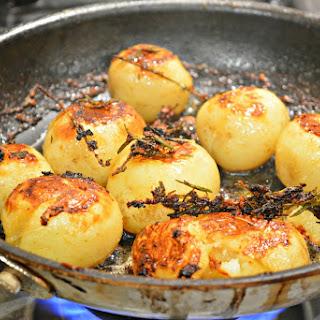 Crispy Creamy Potatoes