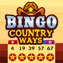 Bingo Country Ways: Best Free Bingo Games icon