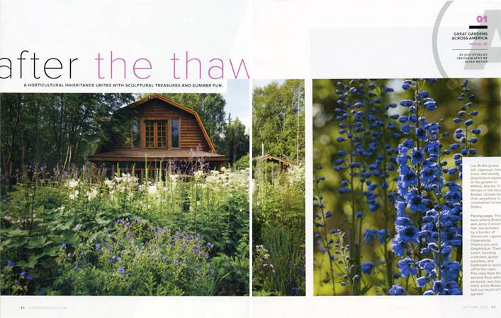 Alaska Garden for Garden Design Magazine