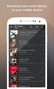 Audible for Android- screenshot thumbnail