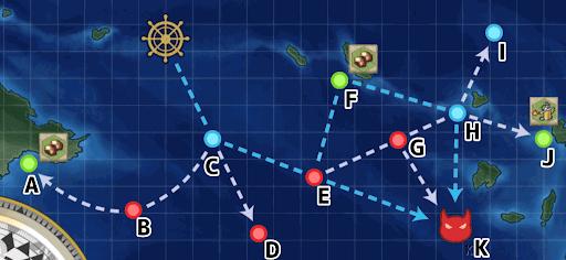 2-2 駆逐艦2ルート