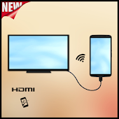 Usb Connector To Tv (HDMI) Icon
