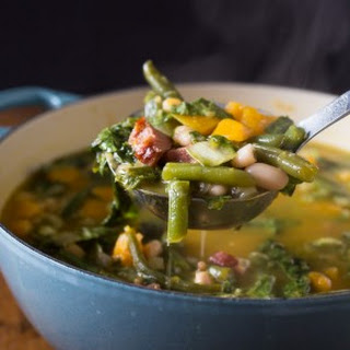 Butternut Squash Minestrone Soup