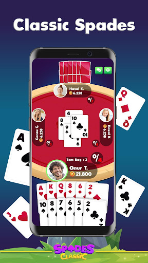 Spades Classic - Online Multiplayer Card Game - screenshot