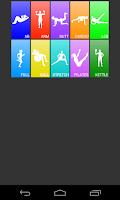 Screenshot of Daily Workouts