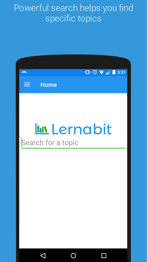 Lernabit - Study app for self learners- screenshot