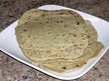 Home Made Spelt Tortillas Recipe