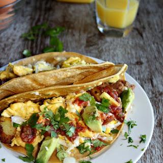 Texas Breakfast Tacos.