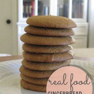 Healthy Soft Gingerbread Cookies.