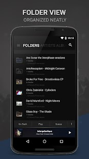 BlackPlayer EX Music Player Screenshot