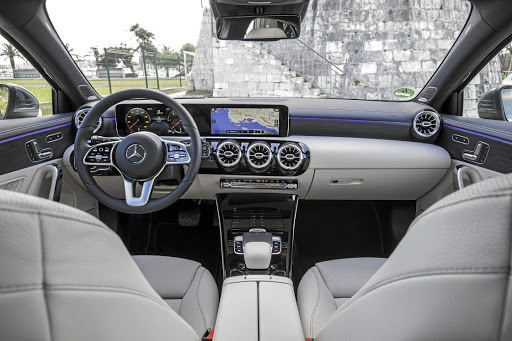 Mercedes-Benz says the car 'uses technology to create an emotional connection between the vehicle and driver'.