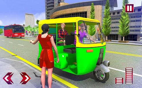 Download City Tuk Tuk Rickshaw Simulator For PC Windows and Mac apk screenshot 11