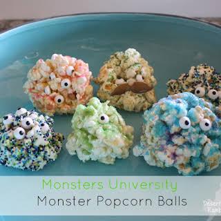Monster Popcorn Balls.