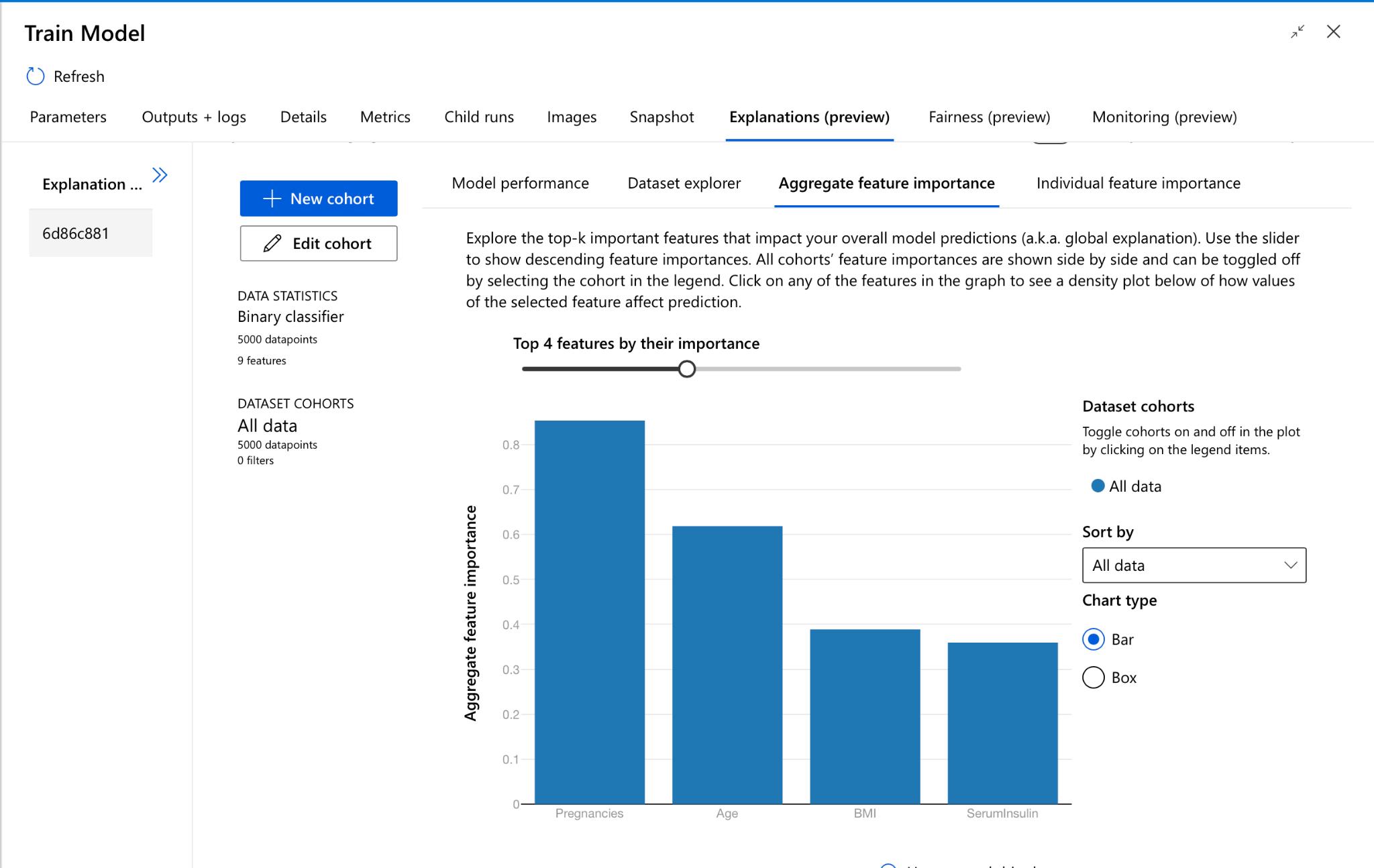 aggregate performance   azureML