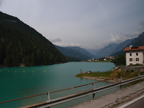 Photo: Onderweg van Treviso naar Lienz: Lago di Santa Catarina