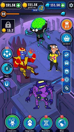 Cartoon Evolution : Merge Them All android2mod screenshots 5