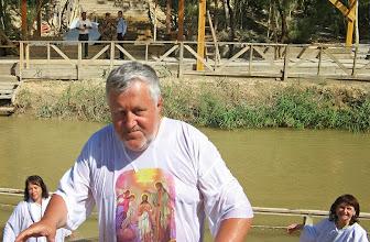 Photo: Затем бодренькое выскакивание из этой реки. С другого берега наблюдали иорданские военные. Далее пока комментариев нет. Денек подождите.