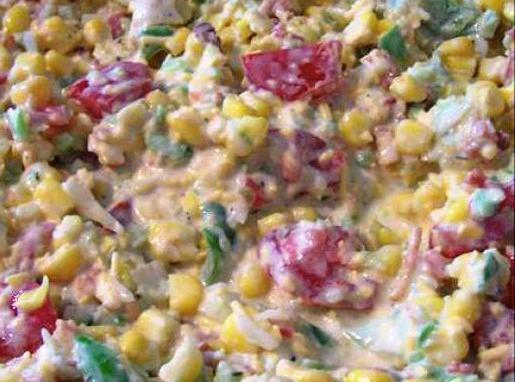 A Completely Different Cornbread Salad
