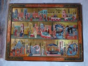 Photo: Rou5Ins211-151002tableau BD vie de St Nicolas, Curtea de Arges, égliseSt Nicolas P1030708