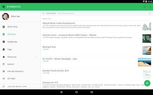 Evernote - 筆記 & 備忘錄的整理系統、行事曆 Screenshot